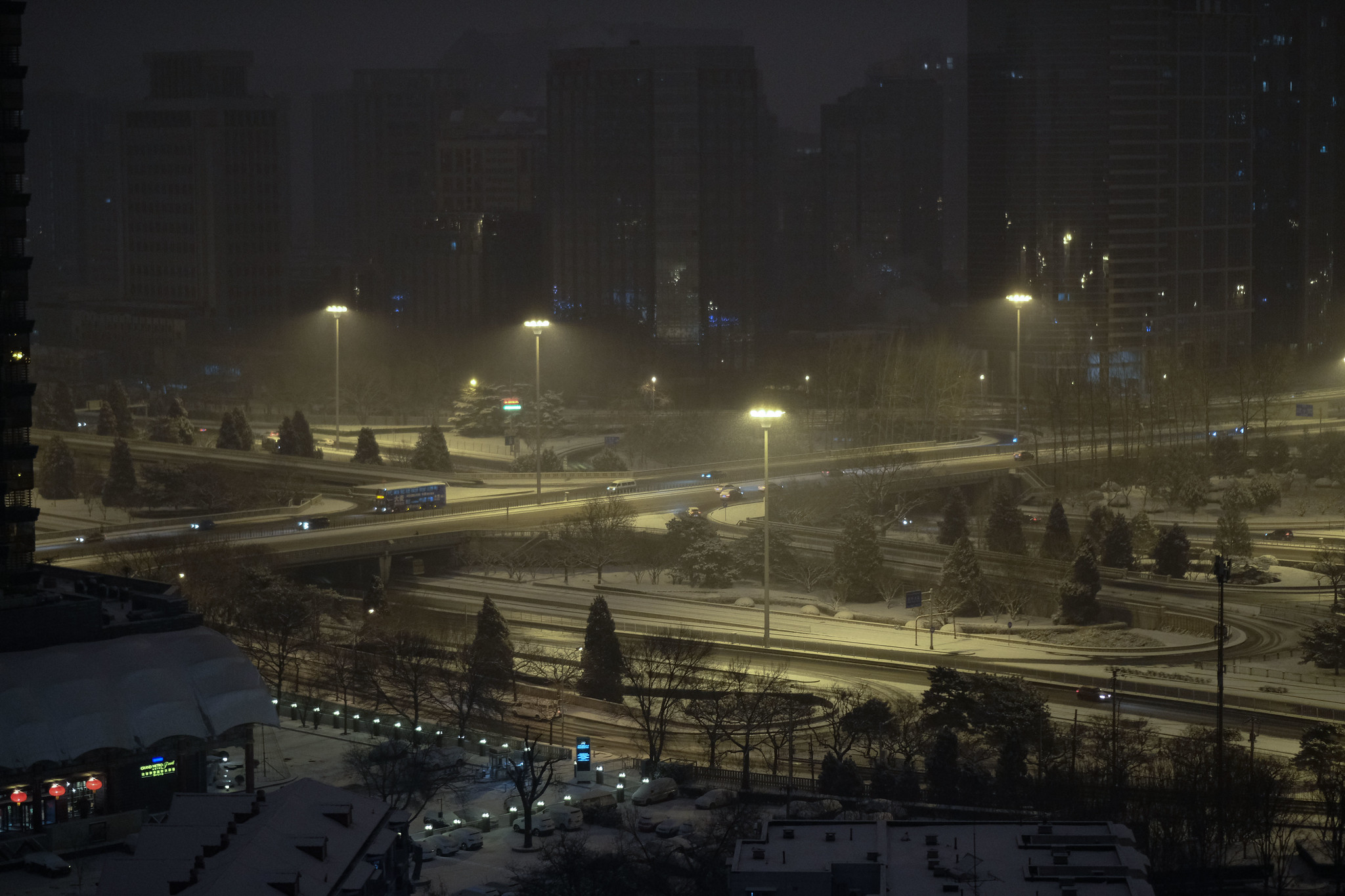 sanyuanqiao-im-Schnee