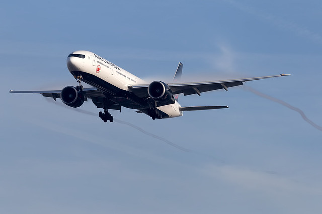 C-FJZS Air Canada B777-300 London Heathrow Airport