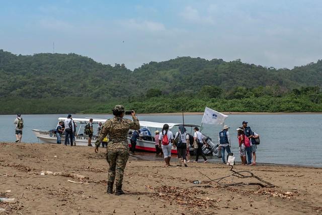 Misión de la Defensoría llega a Jaqué, República de Panamá
