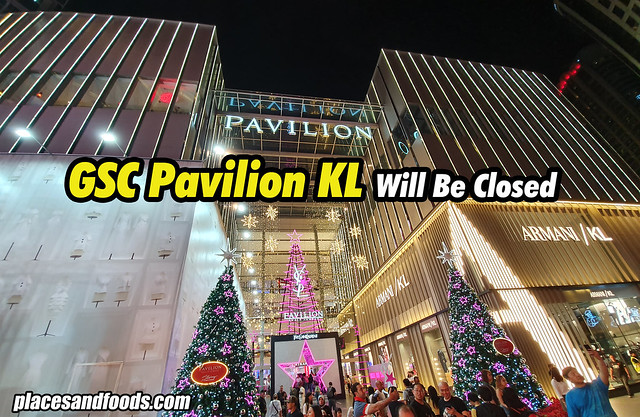 gsc pavilion closed