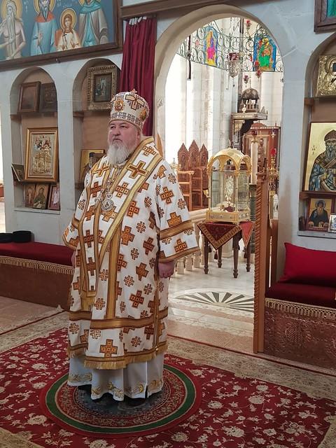 06 февраля 2020, Литургия в храме св. Фотинии у колодца Иакова