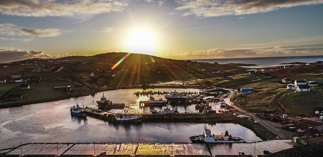Symbister Harbour- Whalsay