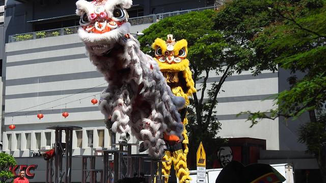 Chinese Dragon at SOGO Centre