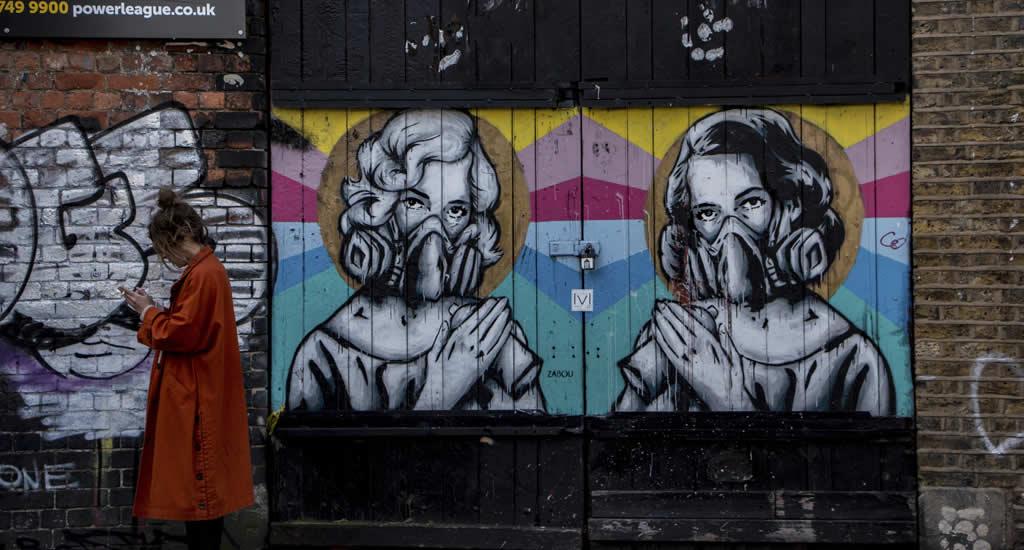Street art in Shoreditch (foto met dank aan Visit London) | Mooistestedentrips.nl