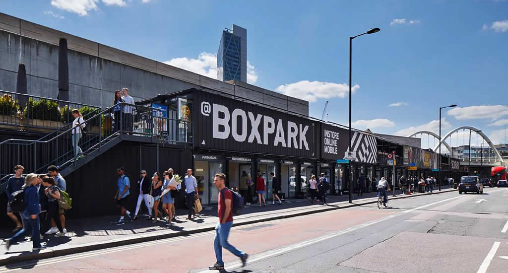 Foto met dank aan Boxpark | Mooistestedentrips.nl