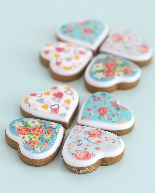 galletas decoradas san valentin