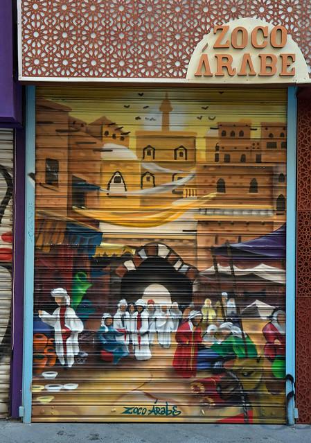Arab Mural