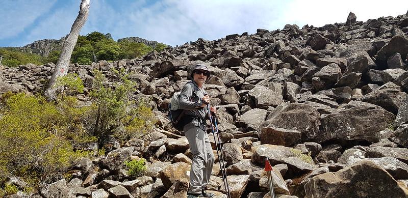 The boulder field (dolerite)