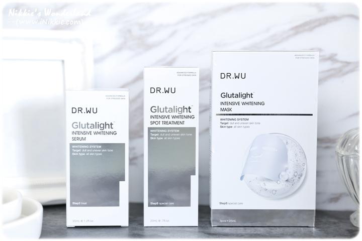 DR.WU 達爾膚 潤透光美白精華液 潤透光密集淡斑精華 潤透光美白微導面膜