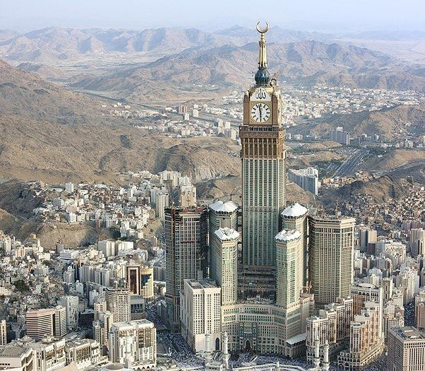 Abraj Al Bait Tower Twins Hotel, Saudi Arabia