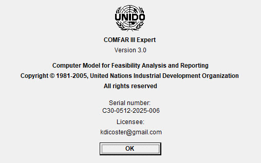COMFAR III Expert 3.0 Full license
