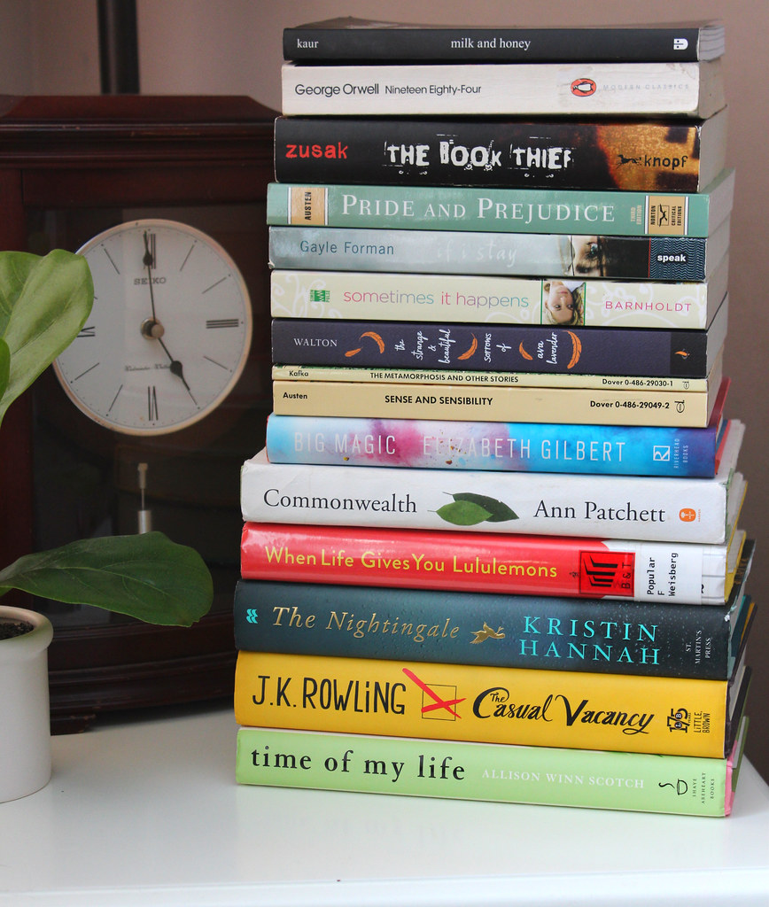 Book Haul Stack | Reading & Writing Rych
