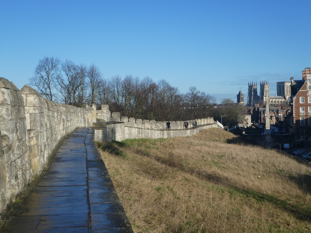 Ancient city walls York