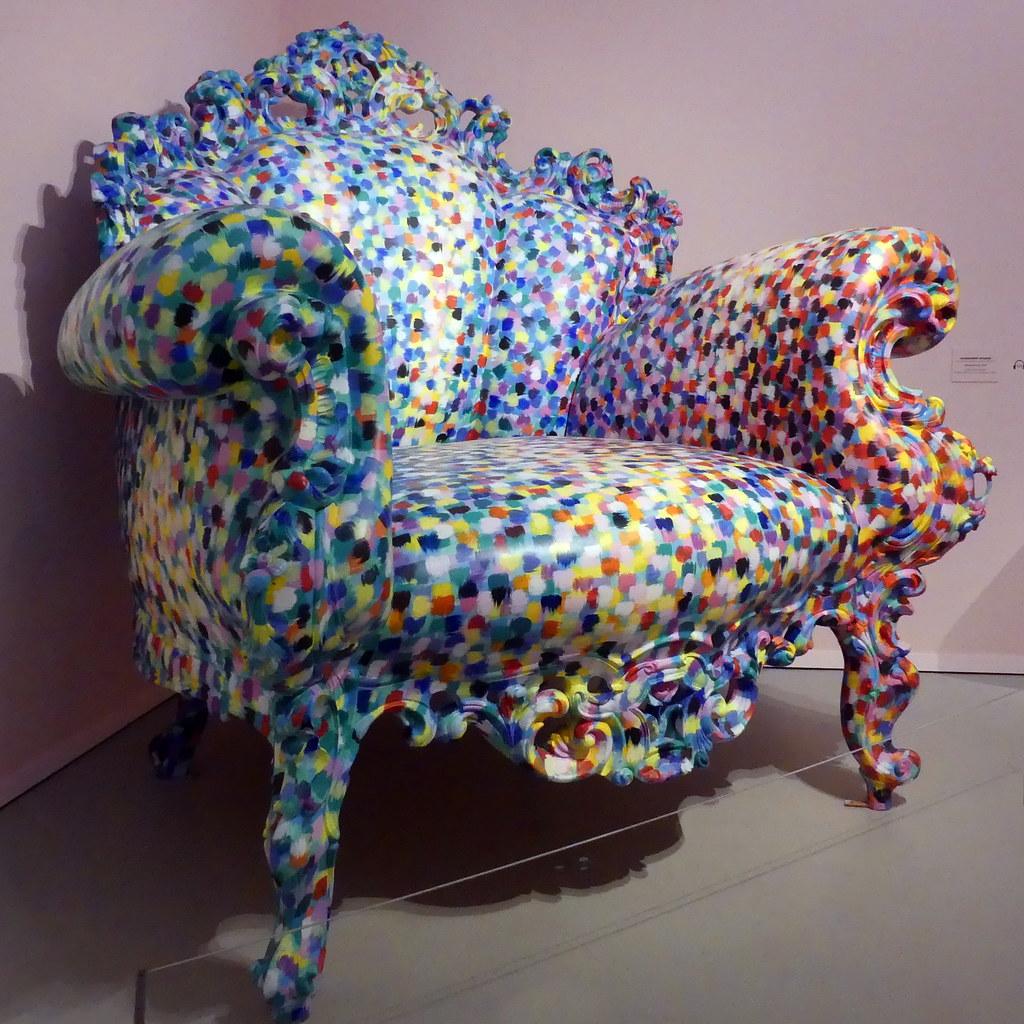 Alessandro Mendini, le fauteuil Proust