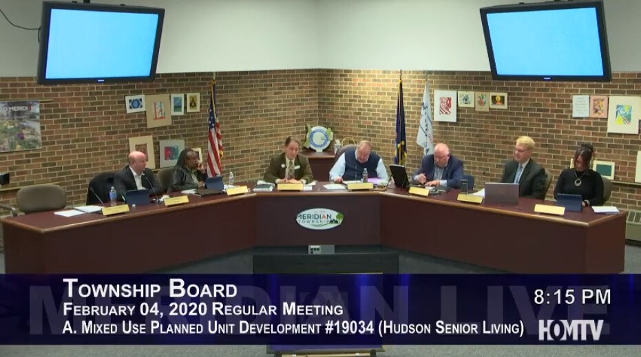 Township Board Discusses Redevelopment of Haslett Village Square Shopping Center