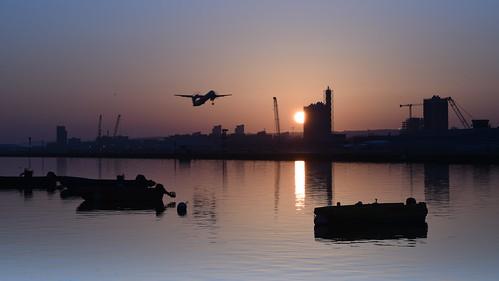 rquk nikon d750 london leereverse06 afsnikkor70200mmf28efledvr sunrise royalalbertdock nikond750
