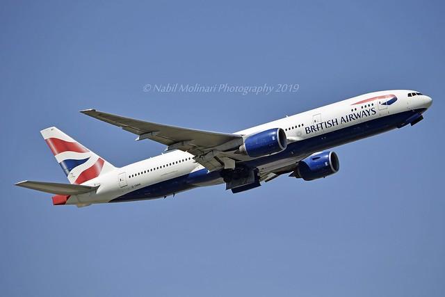 British Airways G-YMMI Boeing 777-236ER cn/30310-308 @ EGLL / LHR 14-05-2019