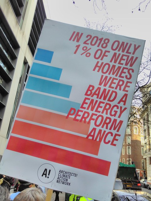 In 2018, only 1% of new homes in the UK were band A energy performance