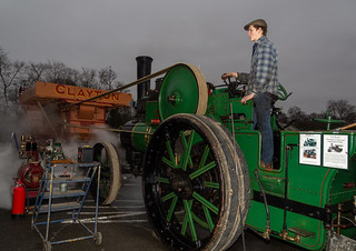 """Shuttleworth Engineering Show """"Dorothy"""" Traction Engine"""