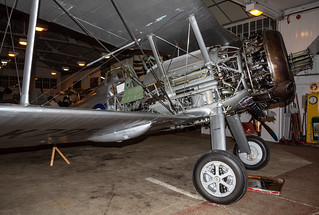 Shuttleworth Engineering Show Glostor Gladiator