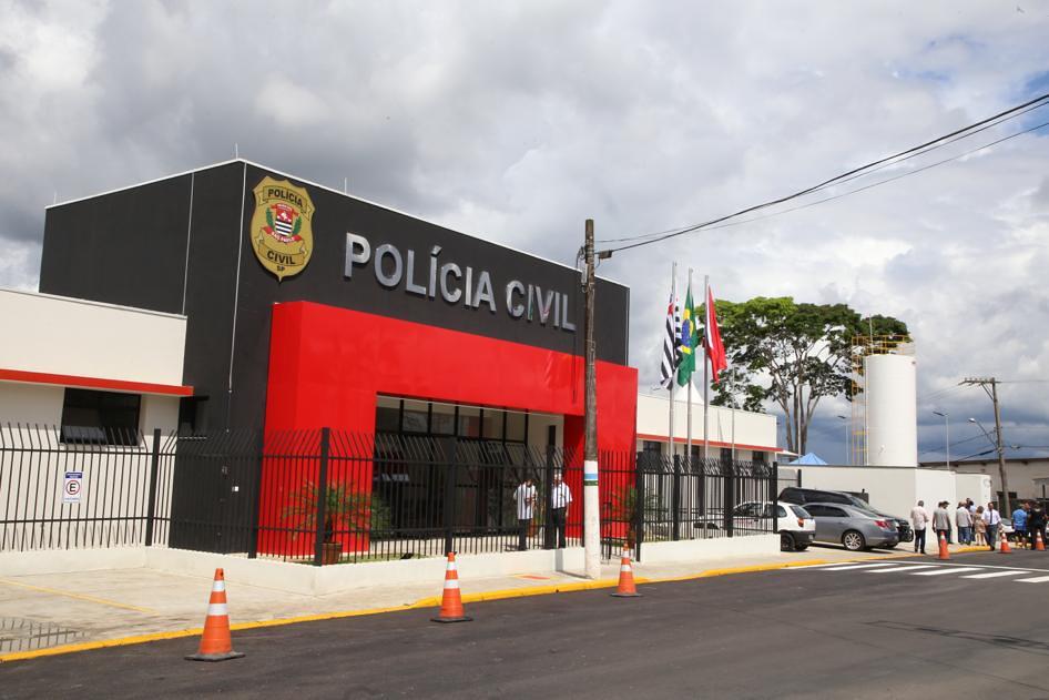 Inauguração das novas instalações da Delegacia de Policia de Ibiúna