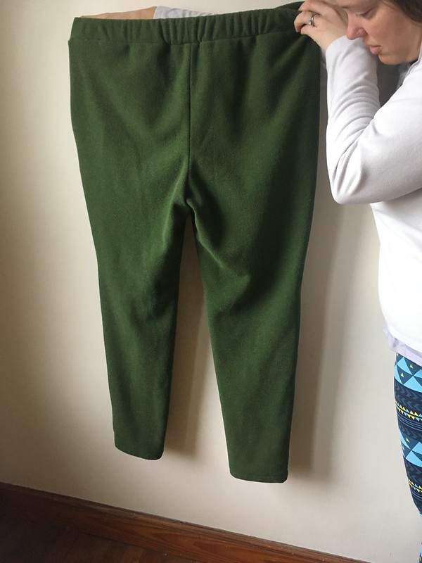 Burda Style 6471 Joggers in Recycled Polartec Thermal Pro