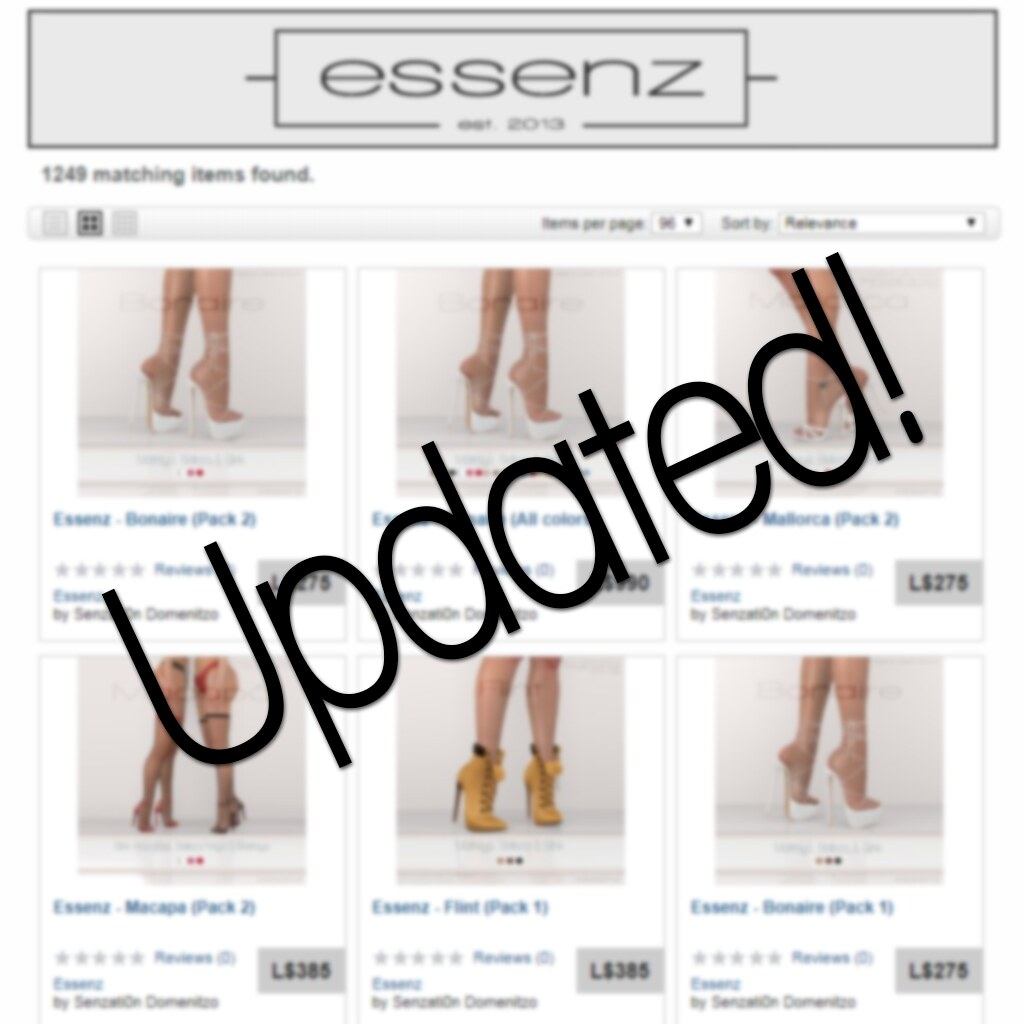 Essenz – Marketplace Updated