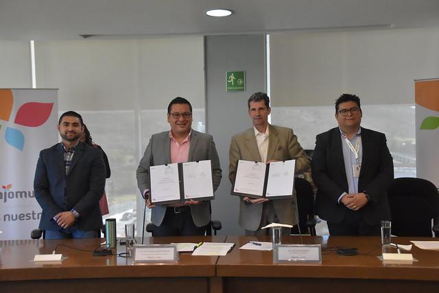 Firma de Convenio con la Organización Internacional de las Migraciones