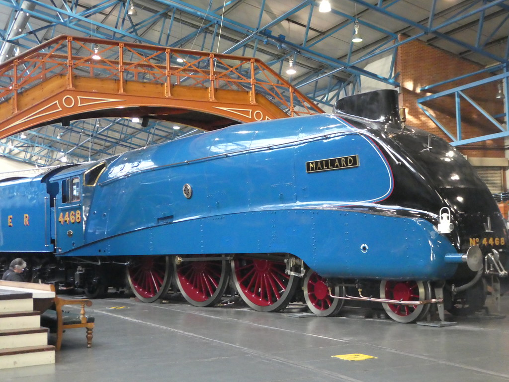 Mallard Steam Locomotive, National Railway Museum, York