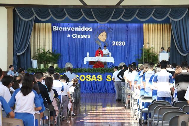 Eucaristía de Inicio de Año 2020
