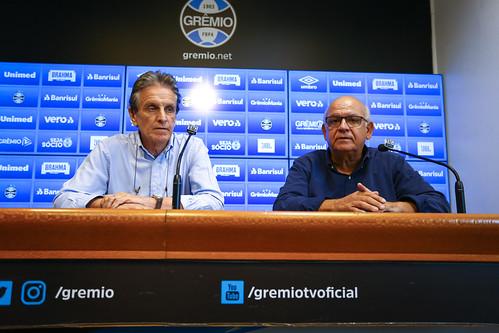 Apresentação - Paulo Luz, novo vice-presidente de futebol