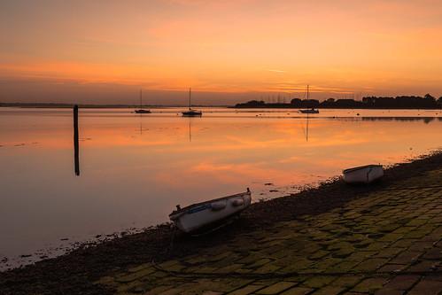 sunrise sunriselight wetreflections boats