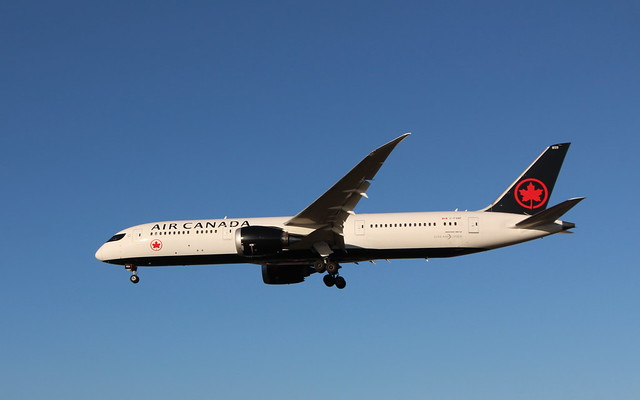 C-FVNF Boeing 787-9 Air Canada