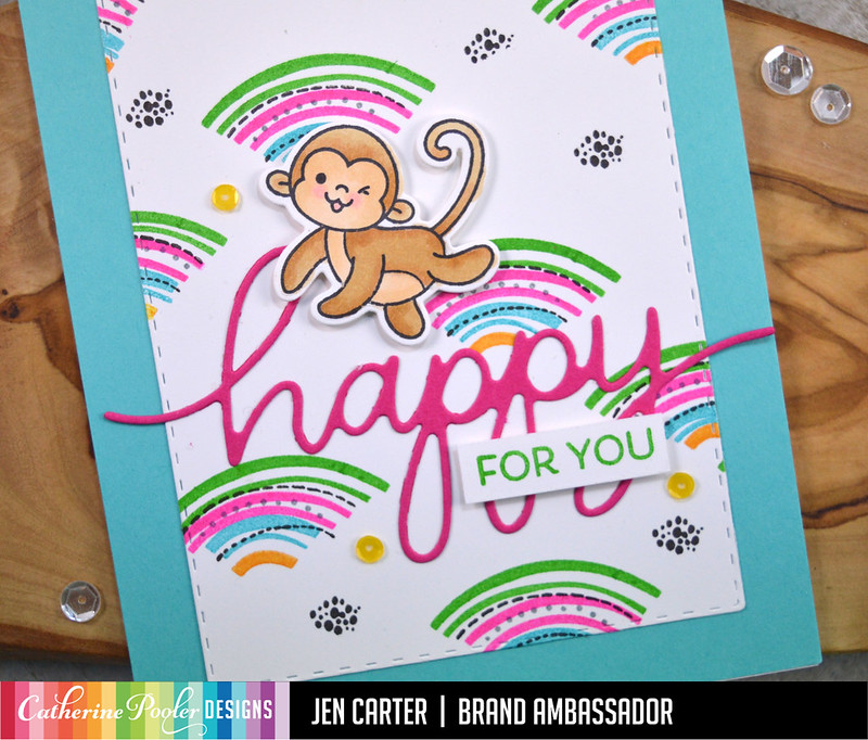 Happy For You CP Geo Curves Heffy Doodle Chimply the Best Jen Carter Closeup