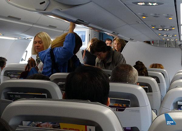 SKY A320neo pasajeros embarque (RD)