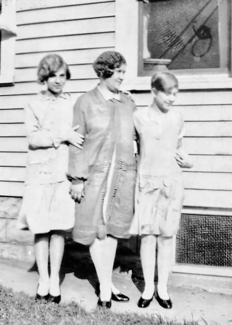 Grandma, Great-Grandma Schoellner, Aunt Evelyn