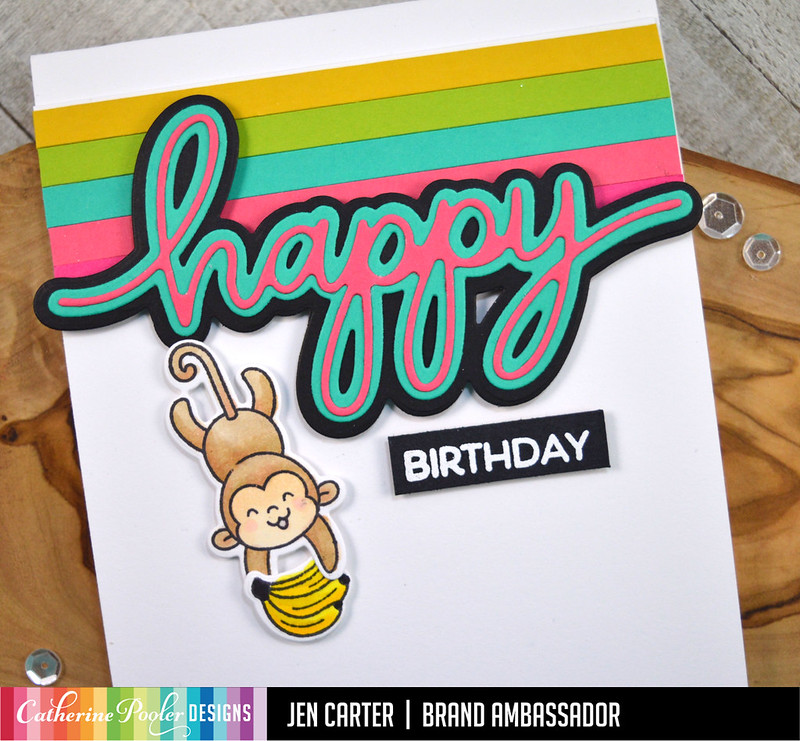 Happy Birthday CP Heffy Doodle Chimply the Best Jen Carter Closeup