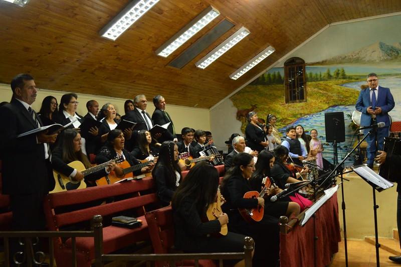 Culto día Miércoles en Villa Alegre por #111ConferenciaIMPCH