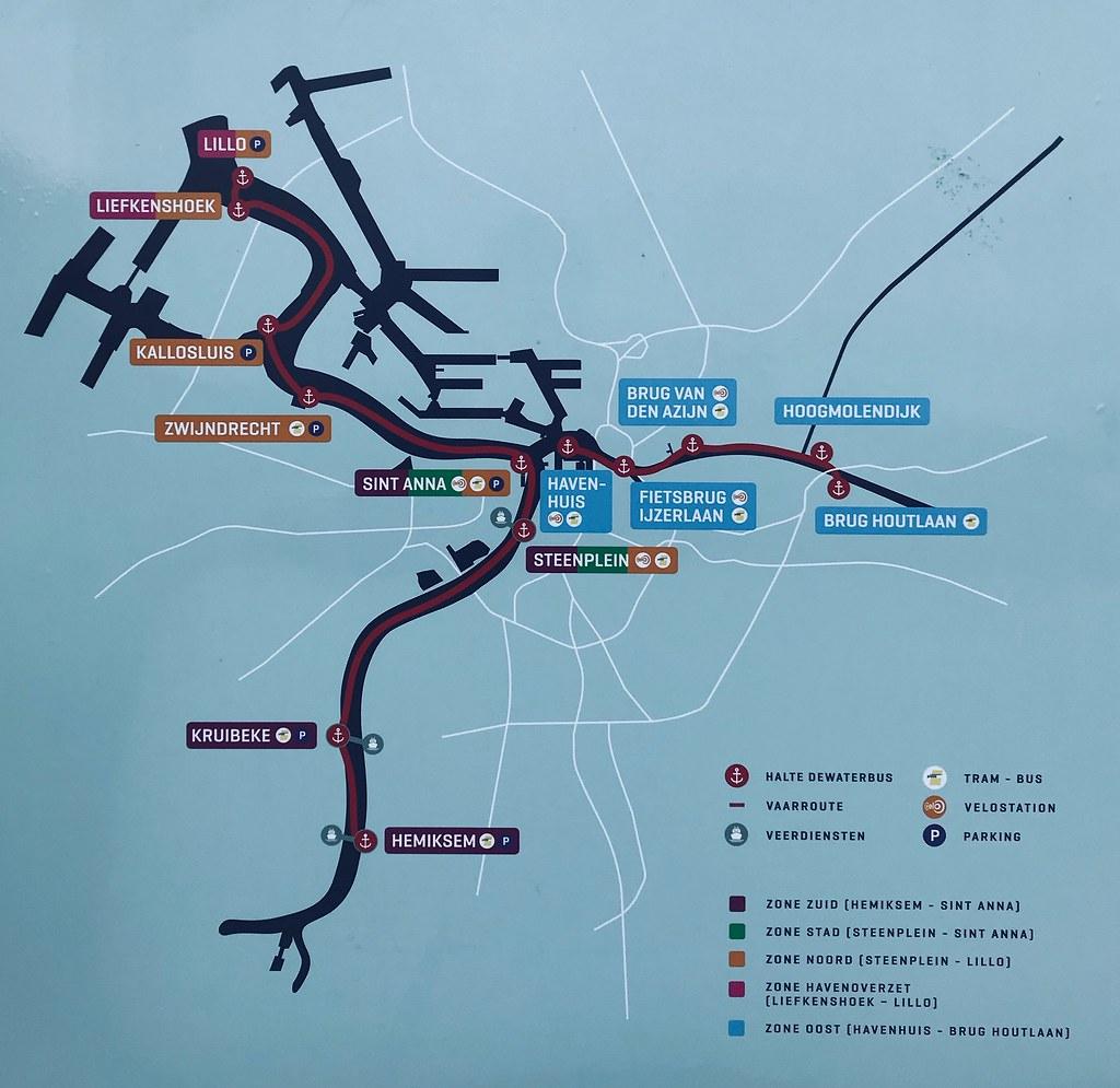 DeWaterbus-mapa