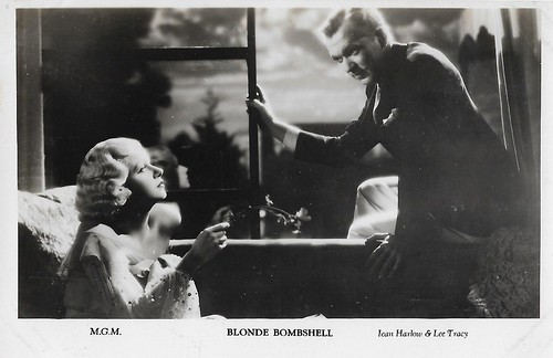 Jean Harlow and Lee Tracy in Bombshell (1933)