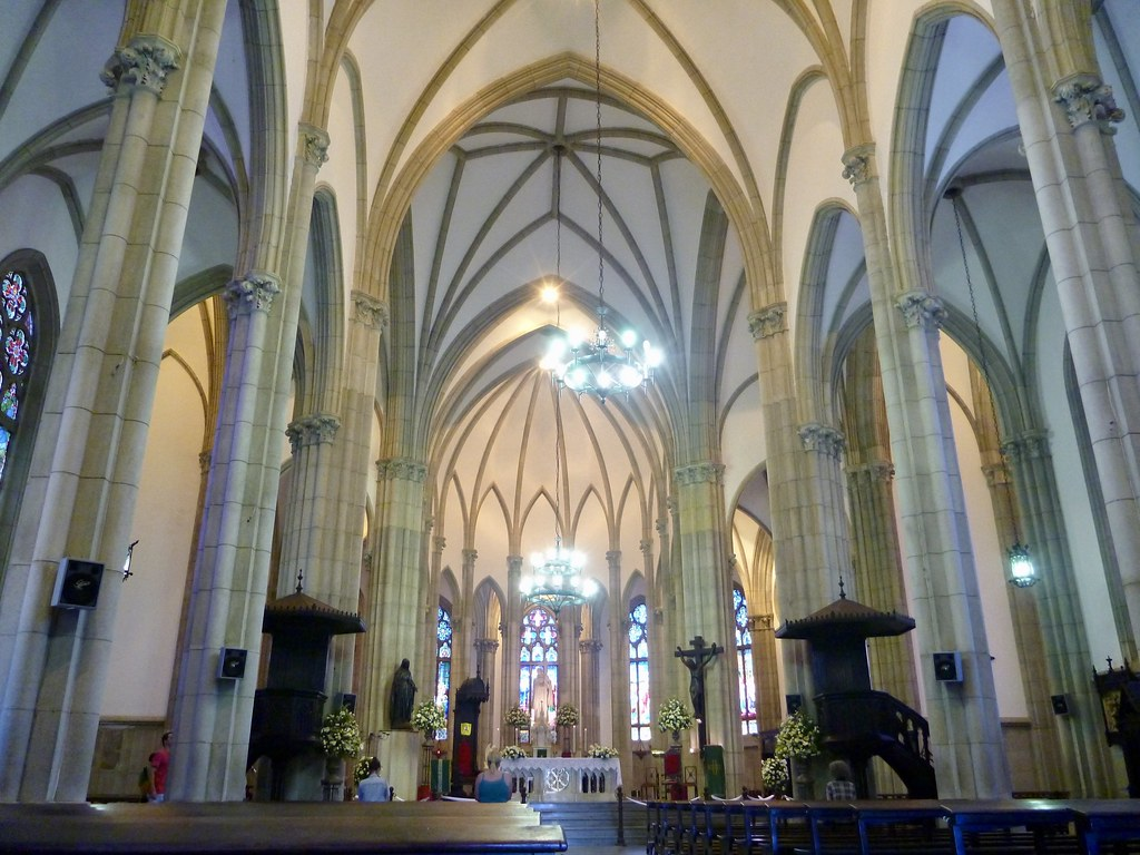 Interior of Cathedral of Petropolis