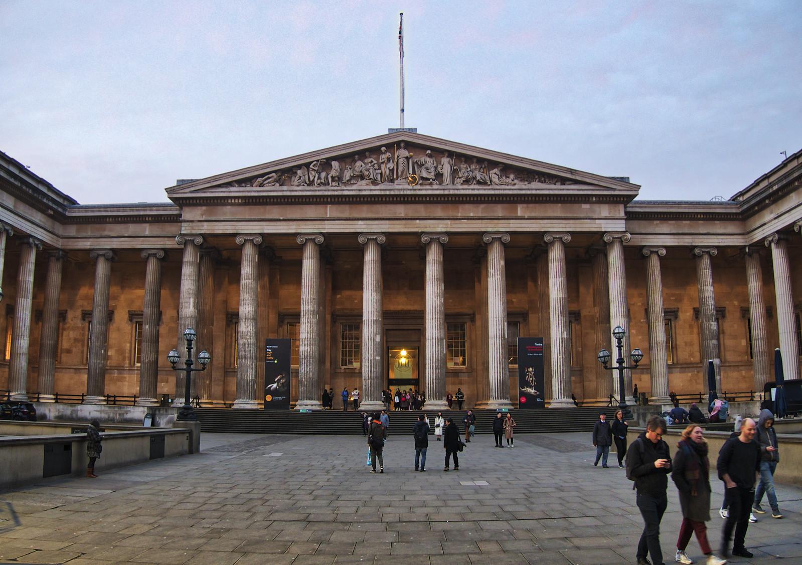 British Museum at last light