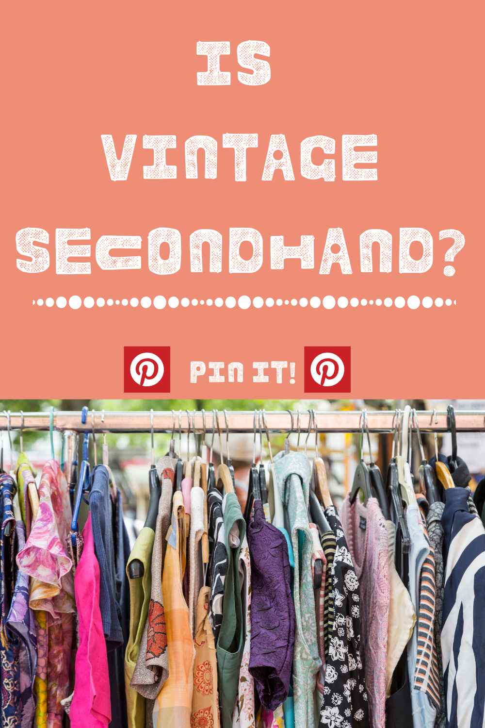 Is Vintage Secondhand? Pinterest