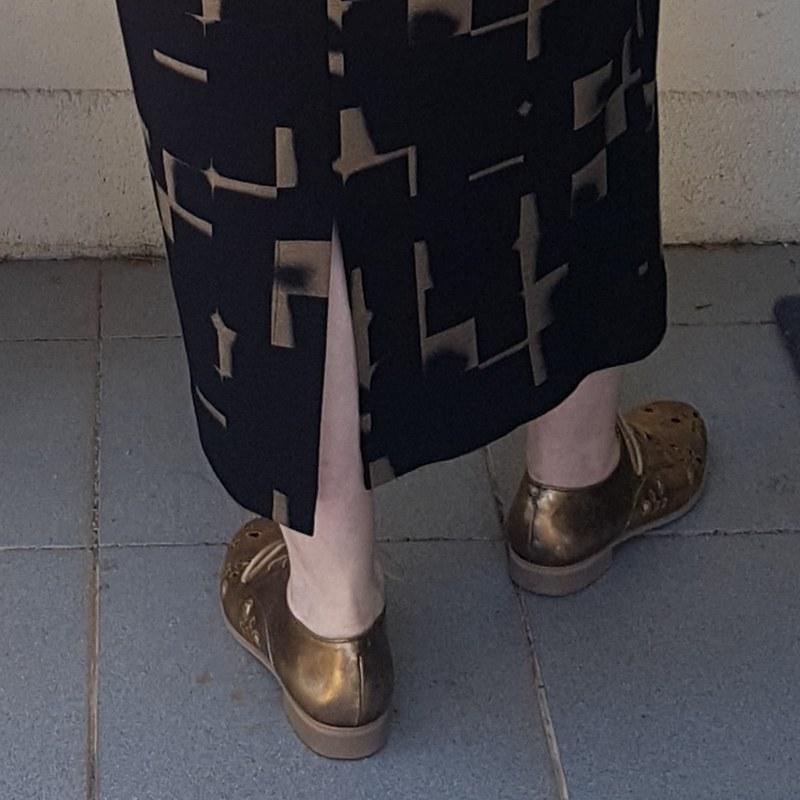 True Bias Lodo dress in ponte