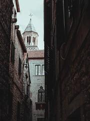 Perspective in Split, Croatia.