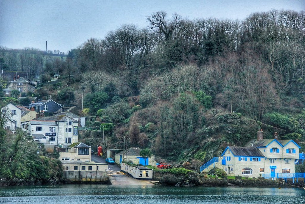 View of Bodinnick from Fowey