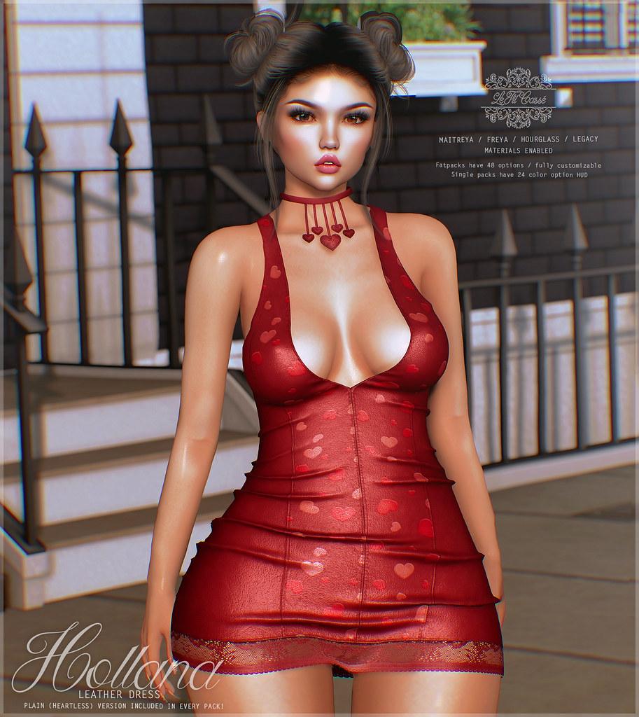 {le fil cassé} Hollana Dress for Cupid Event