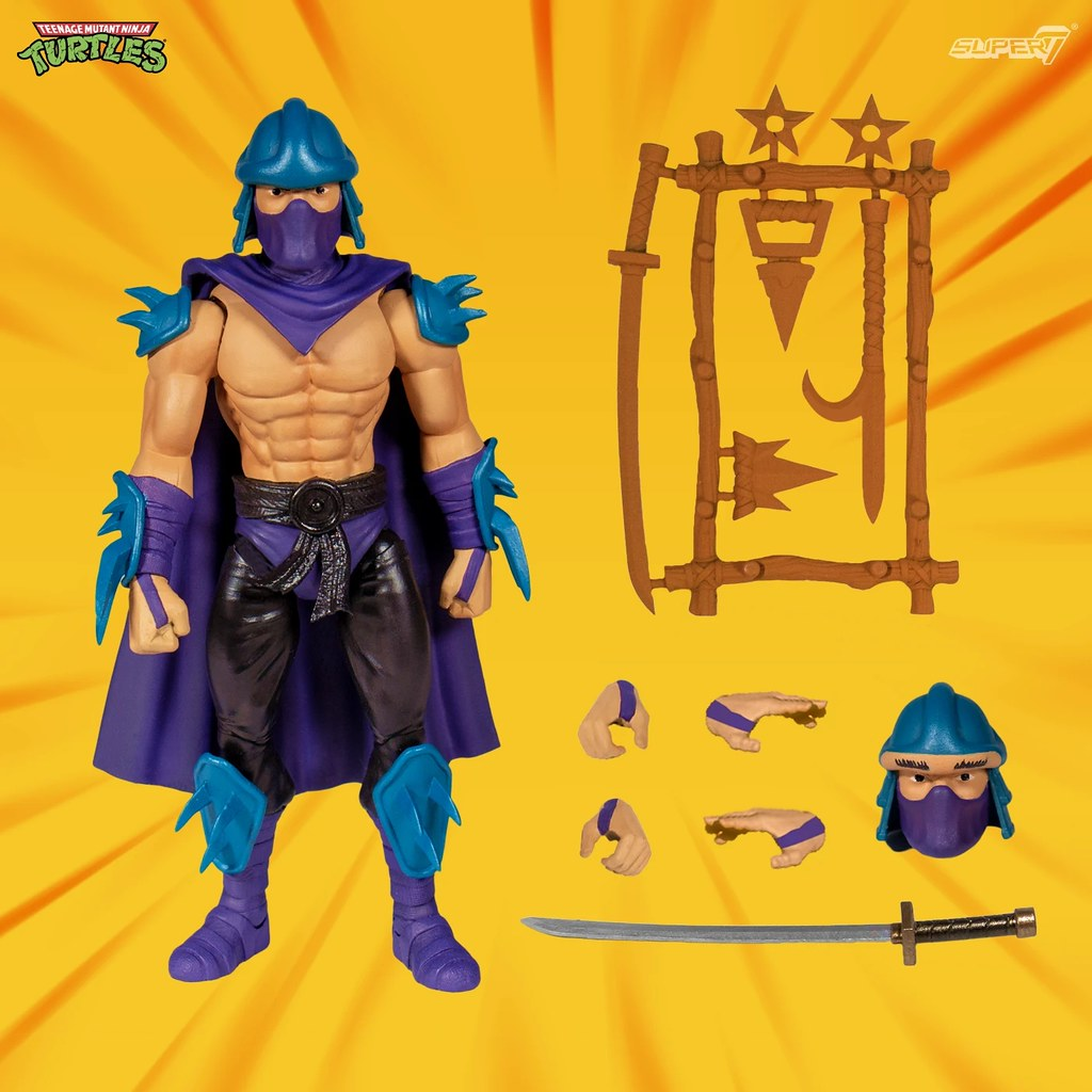 Super 7《忍者龜》可動人偶第二波 Ultimate Teenage Mutant Ninja Turtles Figures - Wave 2 發表!!