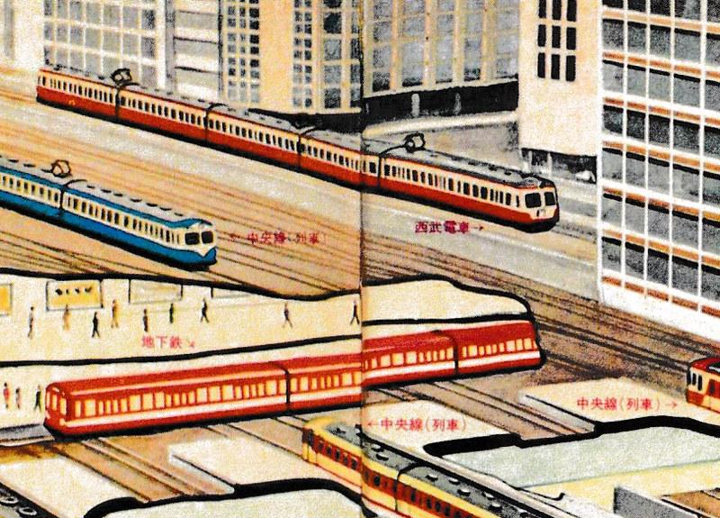西武新宿線が国鉄新宿ステーションビルに乗り入れ (3)-2