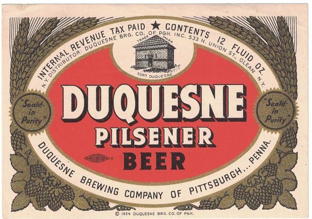 Duquesne-Pilsener